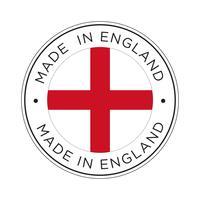 Fabriqué en Angleterre icône de drapeau.