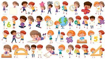Ensemble de maths enfants