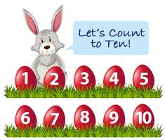 Nombre de lapins d'esters