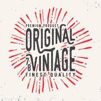 Timbre vintage original
