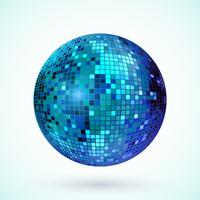 Icône boule disco vecteur