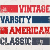 Timbre classique américain