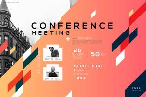 Conférence de réunion d'entreprise, design créatif