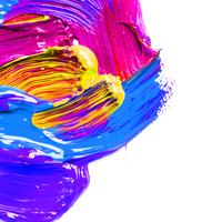 peinture de fond à colorier à l'eau