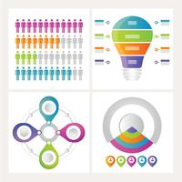Illustration vectorielle infographique vecteur