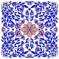 illustration abstraite texture vecteur mandala