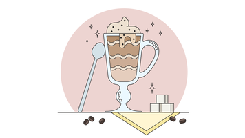 Vecteur cappuccino