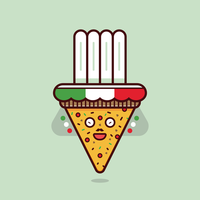 Vecteur de pizza