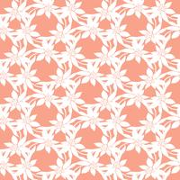 Modèle vectoriel coloré sans couture avec des fleurs printanières. Motif de fleurs de vecteur. Fond floral coloré. Éléments floraux. Motif floral textile. Fond de printemps.