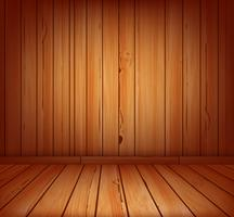 fond intérieur de planches de bois