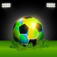 ballon de foot fantastique vecteur