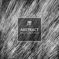 Texture futuriste de lignes diagonales abstraites fond blanc et noir. vecteur