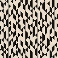 Motif structuré abstrait triangles noirs géométriques sur fond marron. vecteur