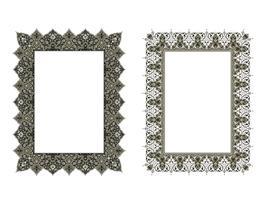cadre élégant carré .. Illustration vectorielle.