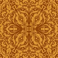 Fond Premium vintage ornemental de luxe. vecteur