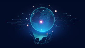 Concept de l'IA vecteur