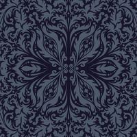 Fond Premium vintage ornemental de luxe. couleur sombre vecteur