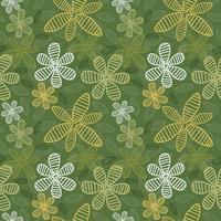 Floral Background sans soudure Vector4-01 vecteur