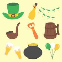 Hand Drawn Saint Patrick's Day Icon Set