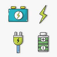 définir la batterie de voiture électrique et la technologie de recharge d'énergie vecteur
