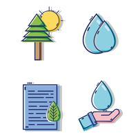 set design plat icônes