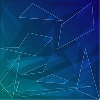 Abstrait bleu foncé avec des formes géométriques pour les entreprises vecteur