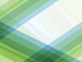Abstrait géométrique de lignes bleues et vertes vecteur