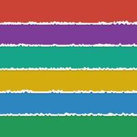 Fond de vecteur de banderoles en papier déchiré coloré avec un espace pour le texte