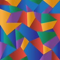 Abstrait coloré mosaïque polygonale