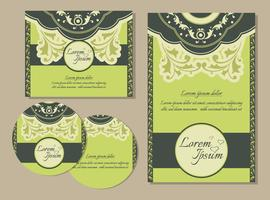 Modèles d'invitation de mariage