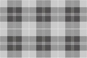 Plaid de tartan sans soudure, illustration vectorielle. vecteur