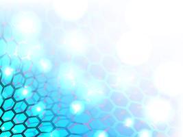 Motif abstrait multi hexagone. vecteur