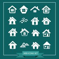 House Icon Real Estate Set pour le site web