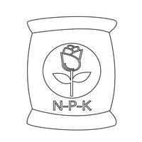 Engrais icône symbole signe vecteur
