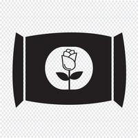 Engrais icône symbole signe