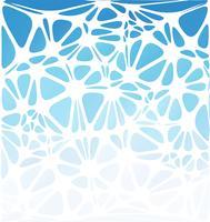 Style moderne bleu, modèles de conception créative vecteur