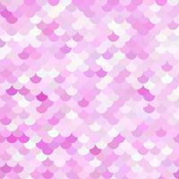 Motif de tuiles de toit rose, modèles de conception créative vecteur