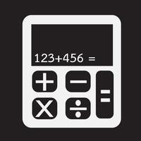 signe symbole symbole calculatrice