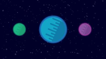 Planète abstrait vecteur
