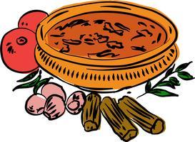 Illustration vectorielle sambar