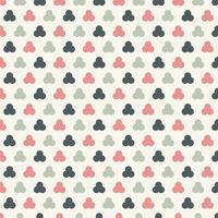 Motifs abstraits cercles sans soudure pastels couleur de fond. Entrelacs géométriques. vecteur