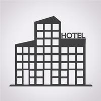 signe de symbole icône hôtel