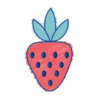 râpé délicieux fruits aux fraises bio