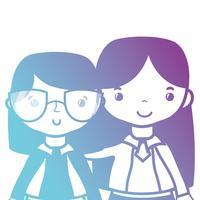 professeur en ligne avec élève à la leçon d'éducation de classe