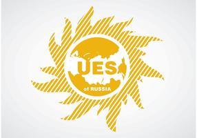 UES de Russie vecteur