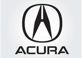 Logo Honda Acura vecteur