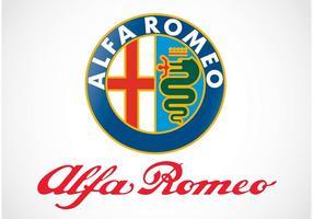Logo alfa romeo vecteur