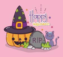 Joyeux dessins d'halloween