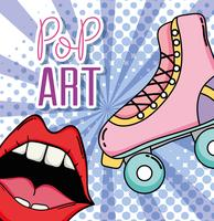 Dessin Pop Art