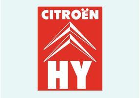 Citroën HY vecteur